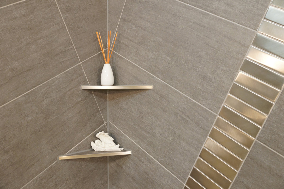 fliesen edelstahl duschrinne compact taf wall edelstahl fliese with fliesen edelstahl alubond. Black Bedroom Furniture Sets. Home Design Ideas