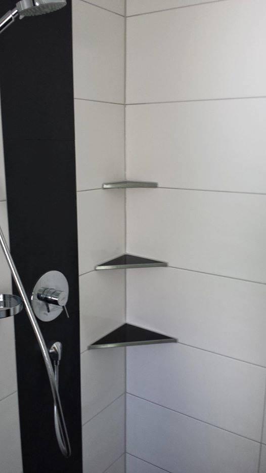 eckablage fur dusche. Black Bedroom Furniture Sets. Home Design Ideas